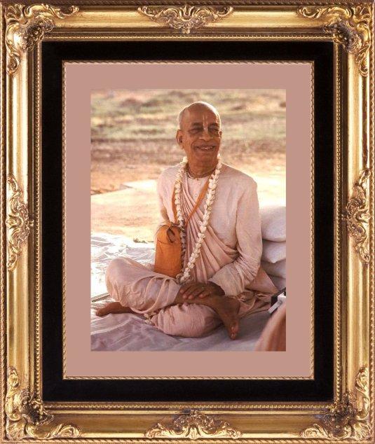 Srila Prabhupada framed