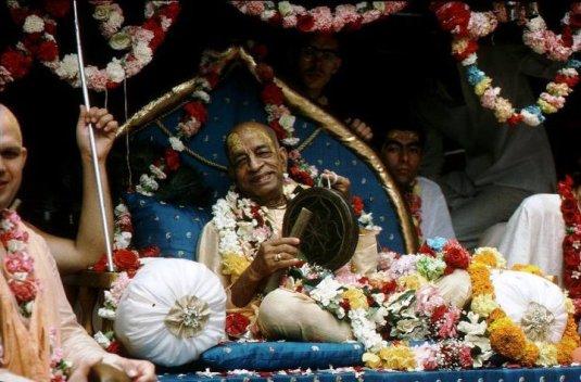 Srila Prabhupada on Vyasasana