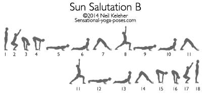 Sun Salutation B by Neil Keleher