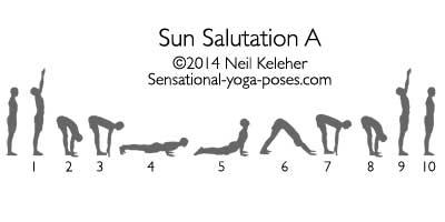 Sun Salutation A by Neil Keleher
