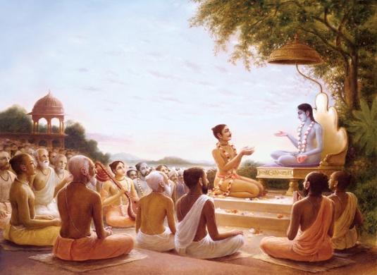 Sukadeva-Goswami-tells-the-stories-of-the-Srimad-Bhagvatam-to-Maharaj-Pariksit (2)