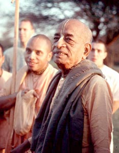 Srila Prabhupada and Sudama Swami