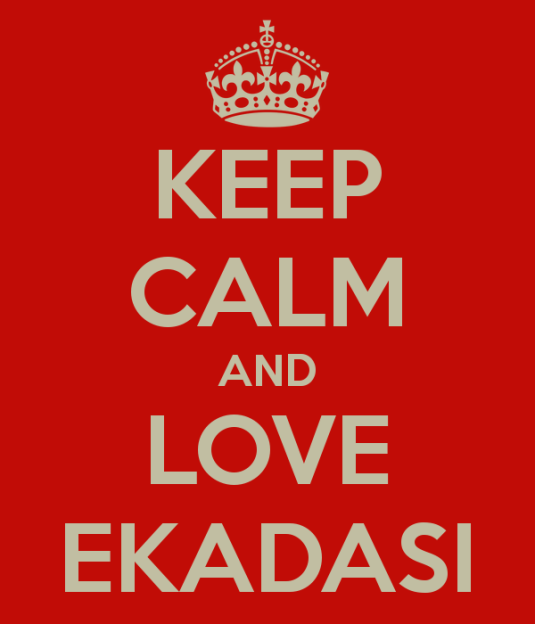 keep-calm-and-love-ekadasi