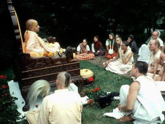 Srila Prabhupada At New Vrindaban3