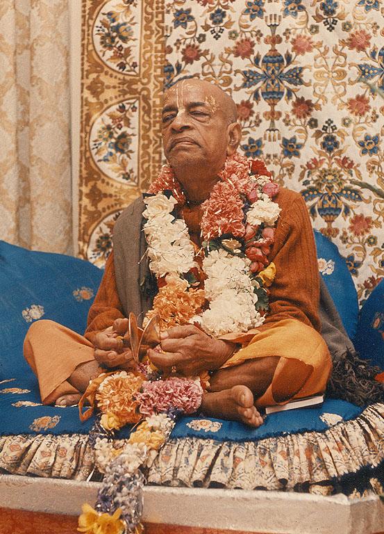 bona fide spiritual master Srila Prabhupada