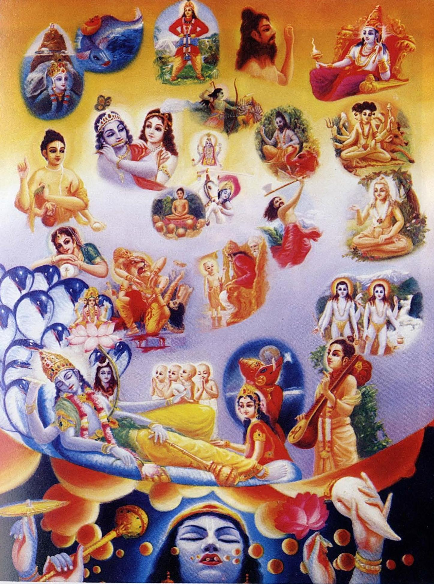 incarnations of krsna
