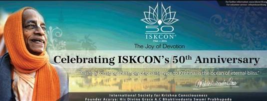 ISKCON 50th anniversary