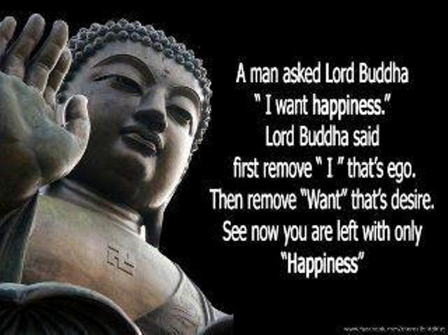 Buddha and Happiness
