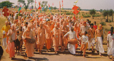 The Sankirtan Movement of Sri Caitanya Mahaprabhu