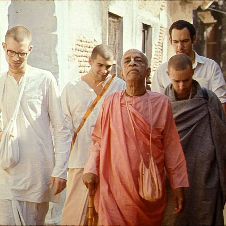 Srila Prabhupada looking regal