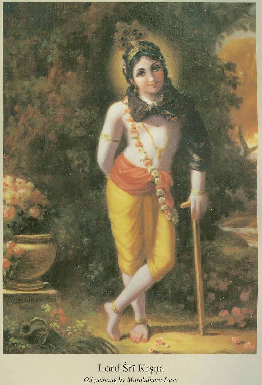 Lord Sri Krsna by Muralidhara dasa